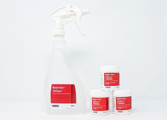 Virkon Spray Bottle & Virkon Tablets