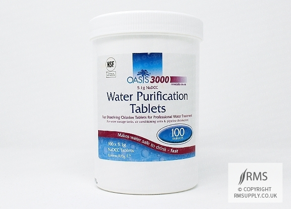 Oasis 3000 Water Purification Tablets - 600 Tablets